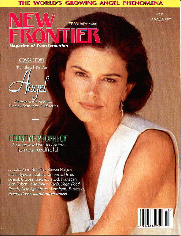 On the Cover of New  Frontier Magazine